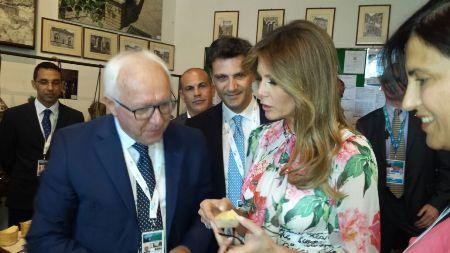 Consorti dei leader G7 a Taormina