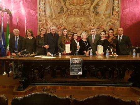 """Il premio letterario """"Pirandello"""" organizzato dall'ERSU: Consegnati all'Università di Catania a studenti e attori"""