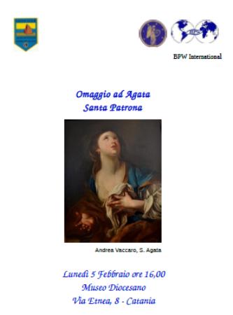 """Fidapa e Lions """"Riviera dei Ciclopi"""": Omaggio ad Agata Santa Patrona"""
