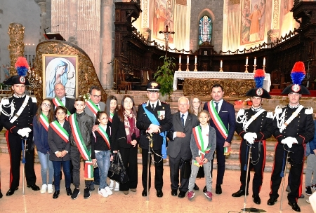"Commemorata al Duomo di Catania la ""Virgo Fidelis"", Patrona dell'Arma dei Carabinieri"