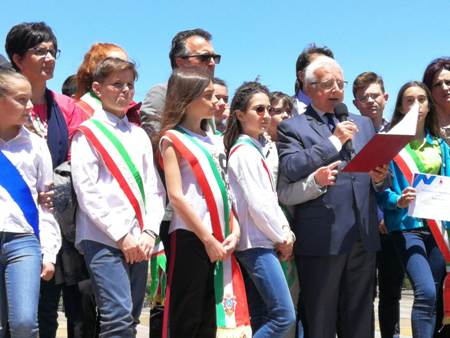 Ragazzi sindaci della Sicilia a Maletto
