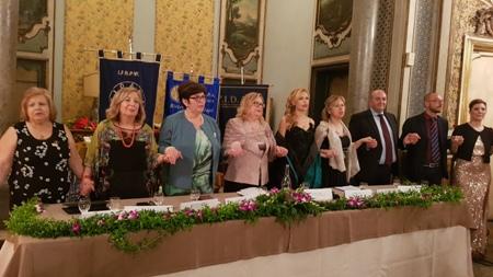 Fidapa: cerimonia Candle's Night al Palazzo Biscari di Catania