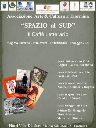"""""""Il Caffè Letterario"""" edizione 2020 di """"SPAZIO al SUD"""""""