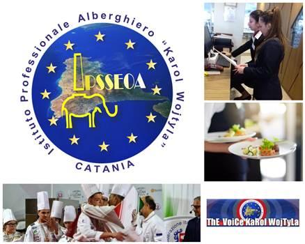 """Professionalità, digitalizzazione, formazione e lingue all'Istituto Alberghiero """"Karol Wojtyla"""" di Catania"""