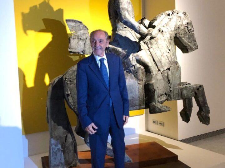 Prorogata fino a luglio 2021 la mostra di Manolo Valdés a Palazzo Cipolla a Roma