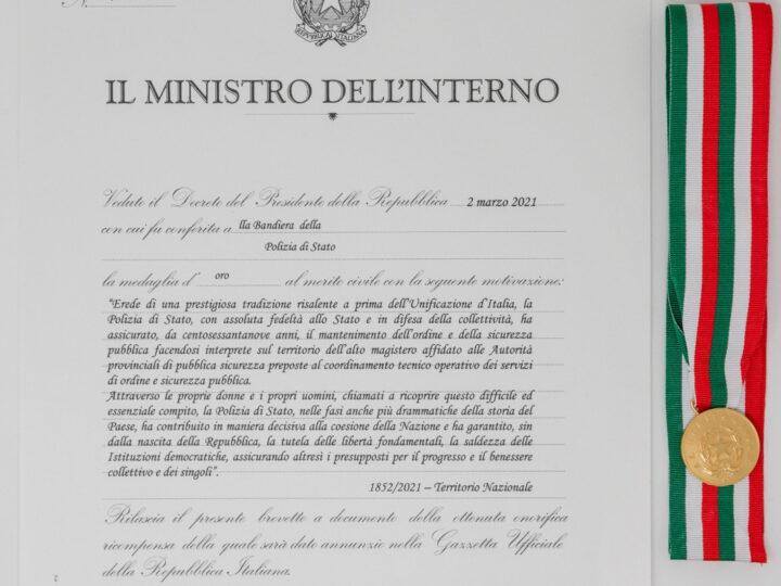 169°della fondazione del Corpo della Polizia Stato di celebrato nel rispetto delle regole di prudenza sanitaria imposte dalla pandemia Covid-19, a Catania e in tutta Italia