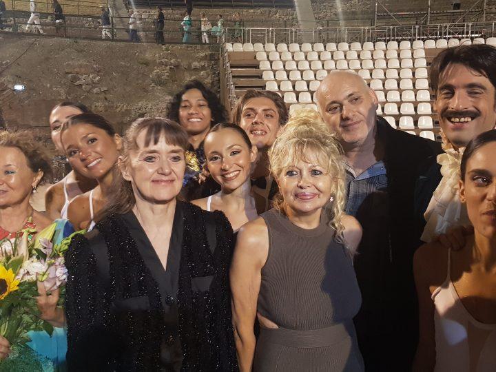 """Gran successo del Taormina Opera Stars ha portato in scena al Teatro Antico """"Remiscence. Lo Schiaccianoci"""" nella rilettura di Pietro Gorgone"""